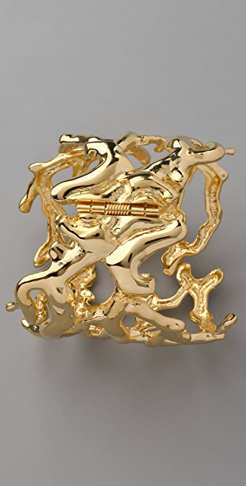 Kenneth Jay Lane Sculpted Branch Cuff