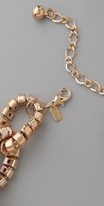 Kenneth Jay Lane Bendable Link Necklace