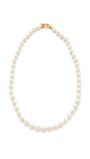Kenneth Jay Lane Imitation Pearl Necklace