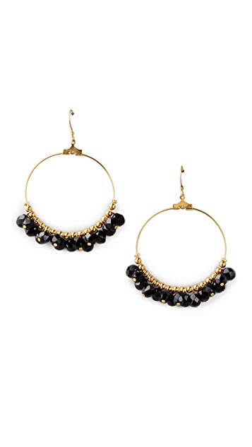Kenneth Jay Lane Gypsy Hoop Earrings