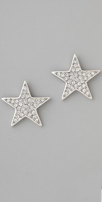 Kenneth Jay Lane Star Earrings