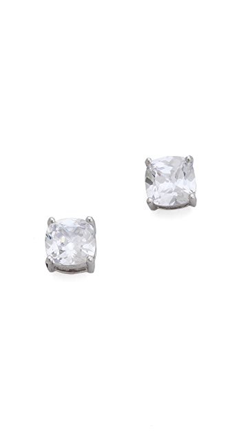 Kenneth Jay Lane Cushion Cut Studs
