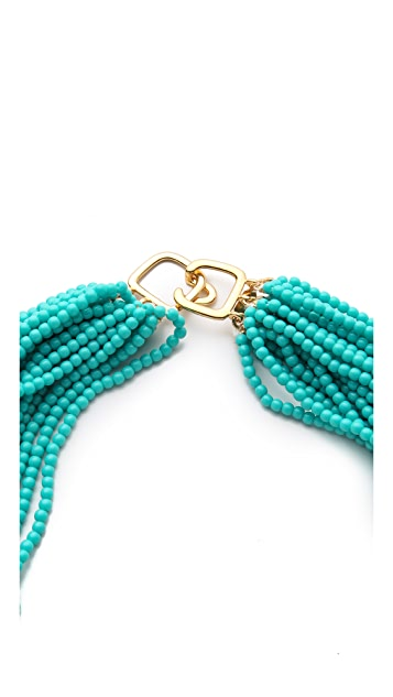 Kenneth Jay Lane Turquoise Necklace