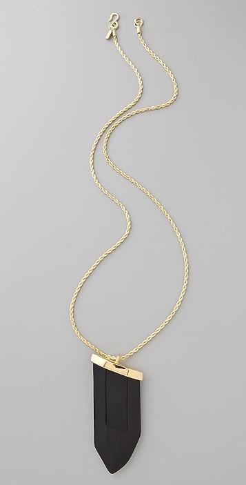 Kenneth Jay Lane Prism Pendant Necklace