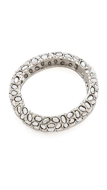 Kenneth Jay Lane Silver Comet Bracelet
