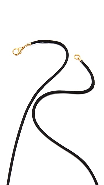 Kenneth Jay Lane Tassel Pendant Necklace
