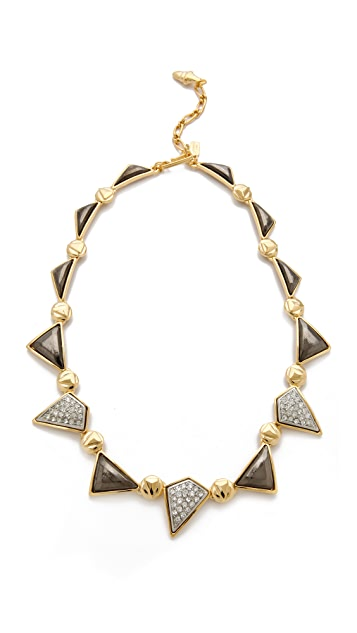 Kenneth Jay Lane Geometric Station Necklace