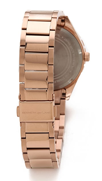 Kenneth Jay Lane Link Watch