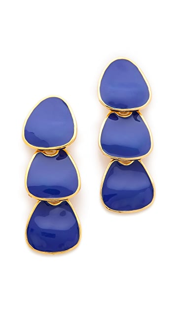 Kenneth Jay Lane Polished Drop Earrings