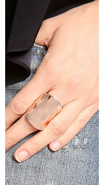 Kenneth Jay Lane Shield Ring