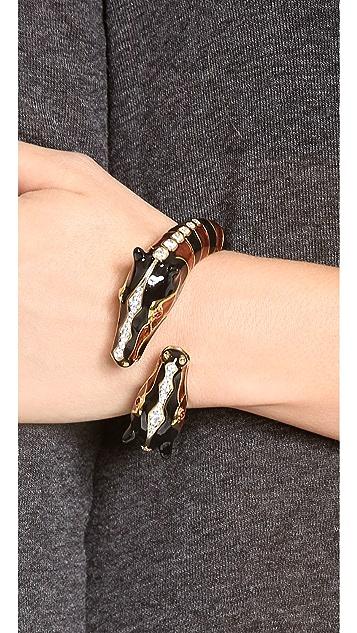 Kenneth Jay Lane Giraffe Bangle Bracelet