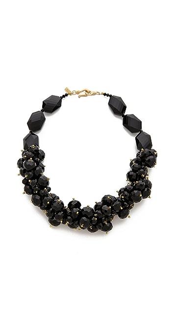 Kenneth Jay Lane Cluster Necklace