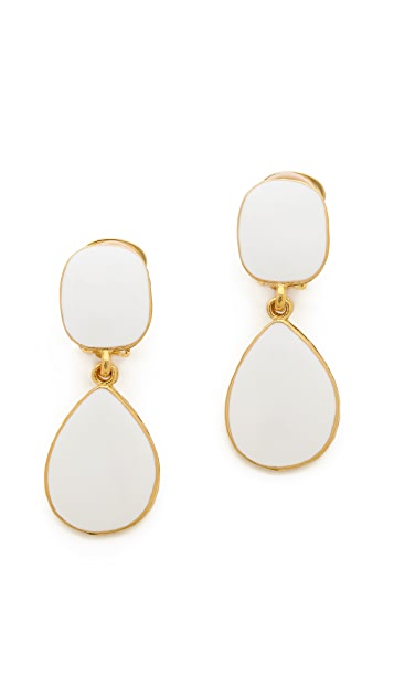 Kenneth Jay Lane Bold Teardrop Earrings