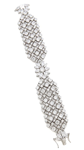 Kenneth Jay Lane Multi CZ Tapered Bracelet