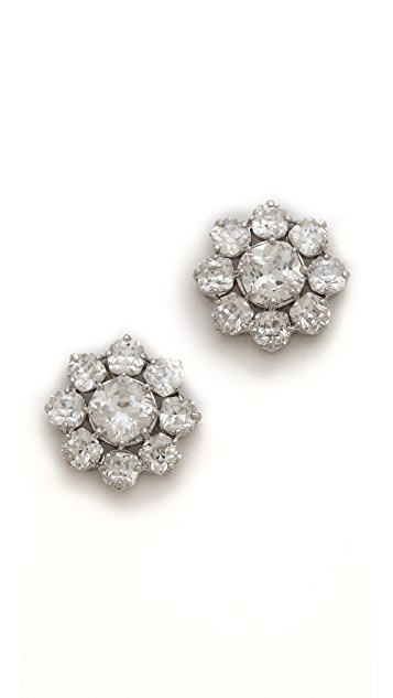 Kenneth Jay Lane Halo Stud Earrings