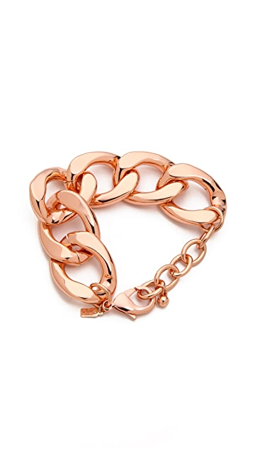 Kenneth Jay Lane Chain Link Bracelet