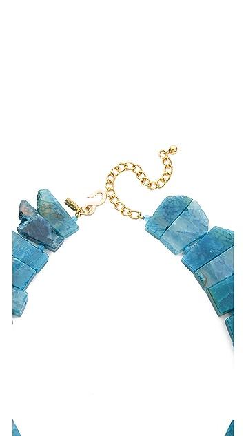 Kenneth Jay Lane Short Stone Necklace