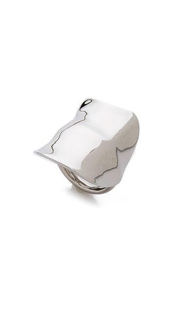 Kenneth Jay Lane Shield Ring