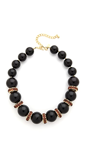 Kenneth Jay Lane Beaded Choker Necklace