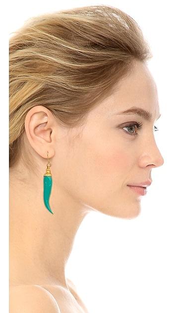 Kenneth Jay Lane Stone Drop Earrings