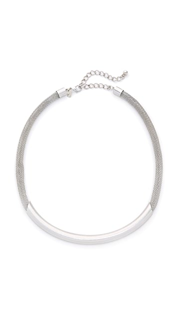 Kenneth Jay Lane Mesh Choker Necklace
