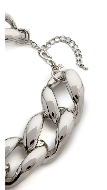 Kenneth Jay Lane Oversized Chain Necklace