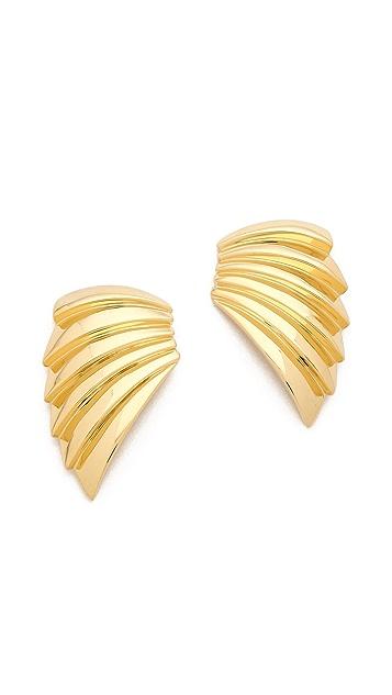 KNIGHT$ OF NEW YORK The Warren Armor Earrings