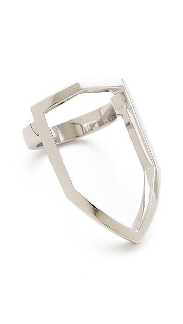 KNIGHT$ OF NEW YORK Rivington Shield Ring