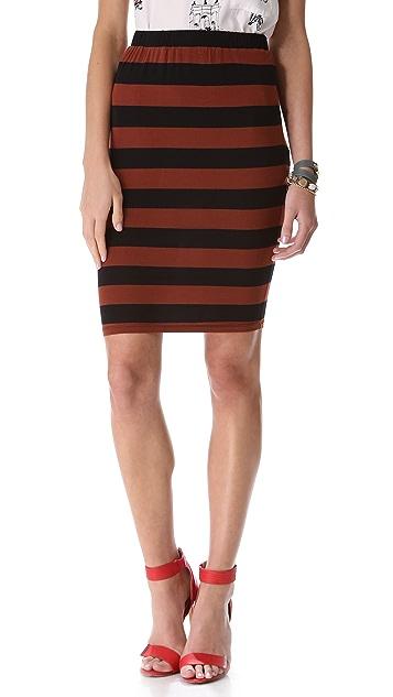 Knot Sisters Del Mar Stripe Skirt