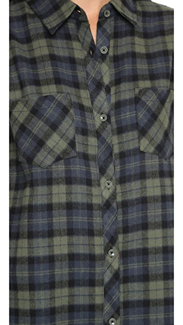 Knot Sisters Cheyenne Flannel Shirt