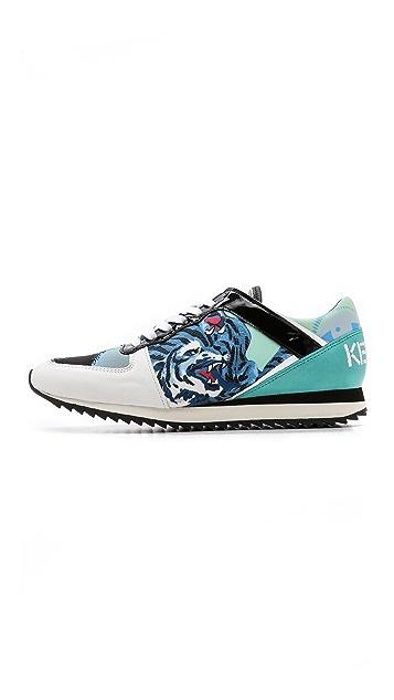 KENZO Flyknit Tiger Sneakers