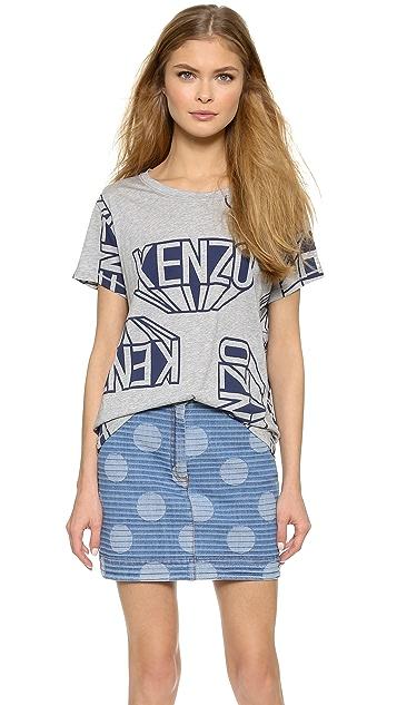 KENZO Printed Tee