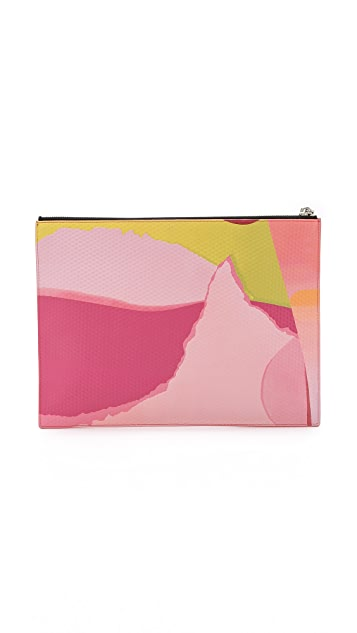 KENZO Printed Flat Pouch