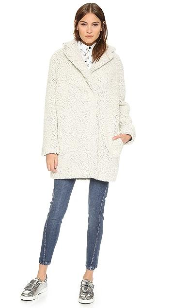 KENZO Teddy Wool Coat