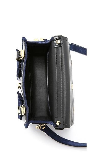 KENZO Suede Camera Bag