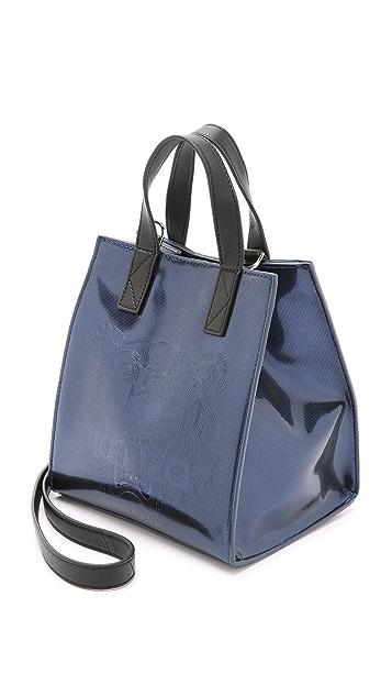 KENZO Embossed Small Bucket Bag