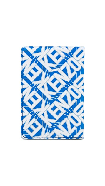 KENZO Flying Logo Passport Holder