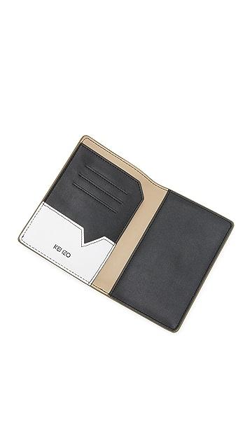 KENZO Flying Logo Passport Holder
