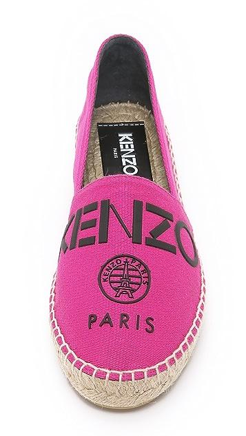 KENZO Kenzo 平底帆布鞋