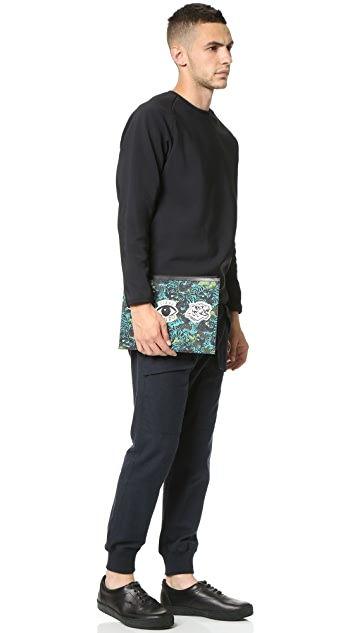 KENZO Essentials Flying Tiger A4 Pouch