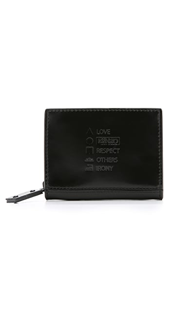KENZO Paris New York Zipped Wallet