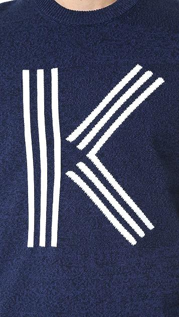 KENZO Classic K Knit Crew Sweater