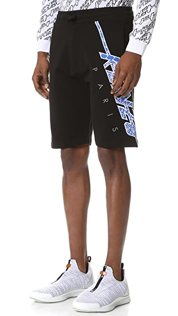 KENZO KENZO Embroidered Shorts