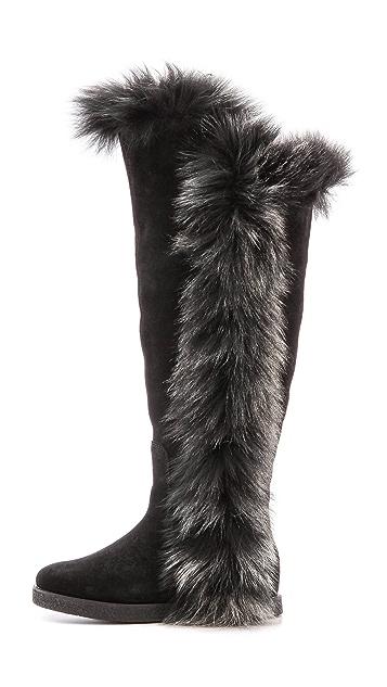 1099dfa5e14 Sasha II Boots with Fur Trim