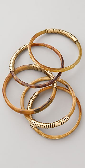 Kora Ruma Horn Bangle Set