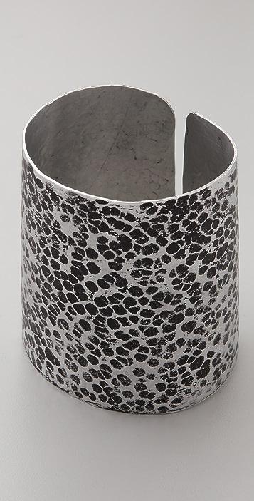 Kora Hammered Aluminum Cuff