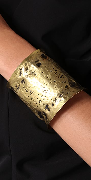 Kora Forged Brass Cuff