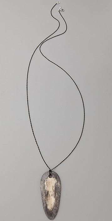 Kora Bone Shield Necklace