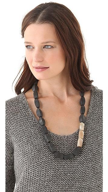 Kora Long Onyx Necklace