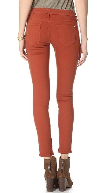 KORAL Low Rise Zip Skinny Jeans
